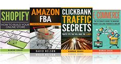 Business Startup: 4 manuscripts: Ecommerce, Amazon Fba, Shopify, Clickbank (how to make money online) by [Shahi, Raman]