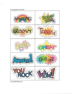 Get students hooked on collecting these 42 encouragement cards. So many cards ='s a reward.