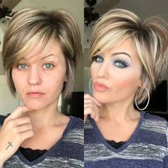 10 Trending Short Layered Hairstyles 2019 shorthairstyle trendinghairstyle shortlayer raquo Eknom – Tip from food, fitness, health, fashion Trending Hairstyles, Short Bob Hairstyles, Cool Hairstyles, Layered Hairstyles, Choppy Haircuts, Hairstyle Ideas, Short Hair With Layers, Short Hair Cuts, Short Hair Styles