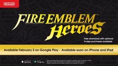 Nintendo's Fire Emblem Heroes will arrive on Android first (Feb 2) https://twitter.com/NintendoAmerica/status/821844046083538944