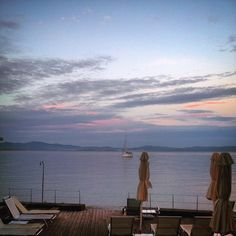 Sailing off into the sunset on a September afternoon. This is how it looks like.  #kosaktis #H2O #seaview