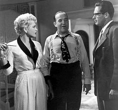 "Judy Holliday (won Oscar for Best Actress in this) starred with Broderick Crawford, center, and William Holden in ""Born Yesterday."""