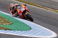 Pole #MotoGP #SpanishGP... Dominio de Honda!!! Mañana carrerón, por quién apostais? 1. Pedrosa 2. Márquez 3. Crutchlow 4. Viñales 5. Iannone 6. Zarco 7. Rossi 8. Lorenzo 9. Folger 10. Miller 11. Redding 12. Aleix ( @davidburgos_es)