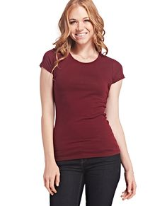Crew Neck Boyfriend Tee | Wet Seal