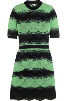 M MISSONI Crochet-knit cotton-blend mini dress. #mmissoni #cloth #dress