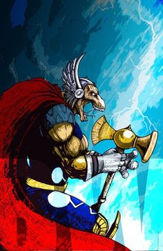 Universal Heroes Store : Marvel : Thor on eBid United Kingdom - Page 1 Marvel Comic Character, Comic Book Characters, Marvel Characters, Comic Books Art, Comic Art, Character Art, Book Art, Comics Anime, Marvel Comics Superheroes