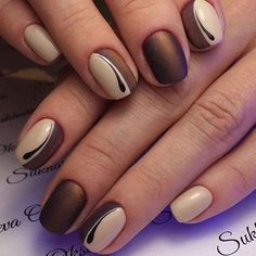 Color brown 54 Autumn Fall Nail Colors Ideas You Will Love Brown tan nail design. Are you looking for autumn fall nail colors design for this autumn? See our collection full of cute autumn fall nail matte colors design ideas and get inspired! Tan Nail Designs, Orange Nail Designs, Colorful Nail Designs, Nails Design, Pretty Nail Colors, Fall Nail Colors, Pretty Nails, Tan Nails, Cute Nails
