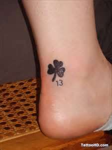 Clover tattoo, me and nicole.