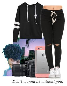 """""""**Thoughts**"""" by liveitup-167 ❤ liked on Polyvore featuring Nikon and LifeProof"""