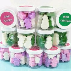 """""""Soap and stocking stuffers are perfect for this year! 🧼"""" Small Christmas Gifts, Christmas Soap, Holiday Gifts, Birthday Favors, Unicorn Birthday Parties, Stocking Stuffers For Women, Bridesmaid Proposal Box, Merry Happy, Spa Gifts"""