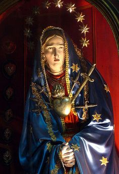 Statue of the Virgin Mary of the Seven Sorrows