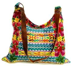 Made from recycled Guatemalan blouses!