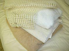 Como fazer Tapete Amarradinho com Toalhas Velhas e Retalhos de Tecido - Recicla Home Design
