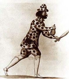 Mollier/Benserade, Ballet Royal de la Nuit, 1653: le Sosie (costume design: H. de Gissey)