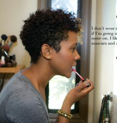 A Day With Karen Marley Photography by Nicole Lennox for K is for Kinky Cut My Hair, Love Hair, Great Hair, Thin Hair, Natural Hair Cuts, Natural Hair Journey, Natural Hair Styles, Karen Marley, Corte Y Color