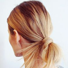 How To: 10 Easy Summer Hair Styles: Beauty: Self.com, when the humidity gets up there, so does the hair ;)