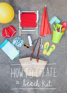El edén creativo: Kit de playa básico