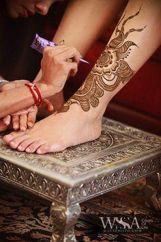 Mehandi Designs for Foot