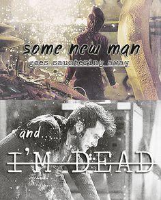 Everything I am dies…. 10's regeneration. :'(
