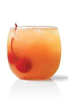 "Pineapple ""Up-Sides-Down"" - Tuaca, vanilla vodka, pineapple juice"