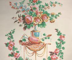 1950's Vintage Wallpaper Nancy McClelland