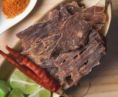 La textura áspera y la consistencia especial de la Carne Seca.