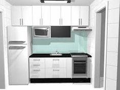 Resultado de imagem para moveis planejados cozinha pequena