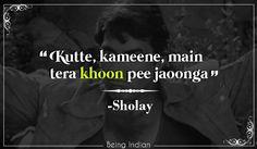 Sholay, Dharmendra, Bollywood.