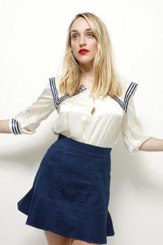 lecole des femmes sailor blouse
