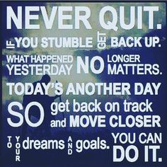 NEVER QUIT!!!