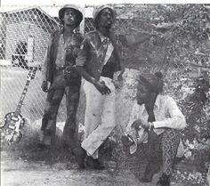 """Bob Bunny and Peter Tosh """