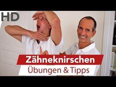 Zähneknirschen (Bruxismus) // Übungen gegen Zähneknirschen im Schlaf - YouTube
