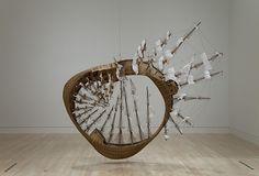 Möbius Ship by Tim Hawkinson