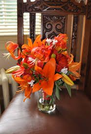 tiger lily center pieces - Google Search