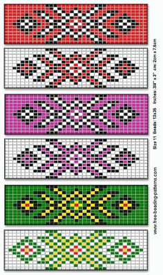 Barrette for native American beadwork