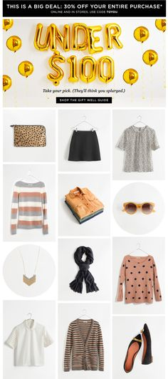 Our favorite gifts under $100 (+ a sale) - betsy.stepler@gmail.com - Gmail