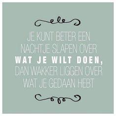 Mooie #quote.