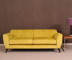 Retro low sofa