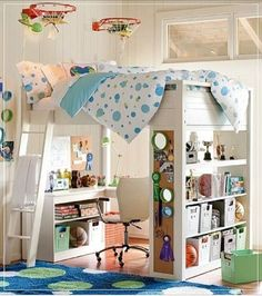 loft beds diy | Via Tammy Allen-Schenke - Rodan + Fields®