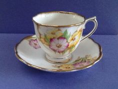 A personal favorite from my Etsy shop https://www.etsy.com/listing/233801225/vintage-royal-albert-bone-china-england
