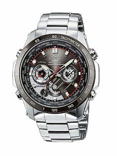 Casio Funkuhren Herren-Armbanduhr Funk-Solar-Kollektion Chronograph Quarz EQW-M1000DB-1AER | Your #1 Source for Watches and Accessories