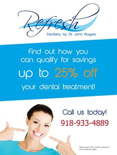 Dentist flyer design http://orimega.com/graphic-designs/