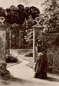 """I saw a blackened ruin"" (B. S. Greig, 1893) JANE EYRE"