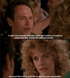 When Harry met Sally, one of my top 5 fave movies ever