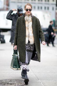 Pin for Later: Retour Sur les Meilleurs Looks Street Style de la Fashion Week de New York Jour 7 JJ Martin.