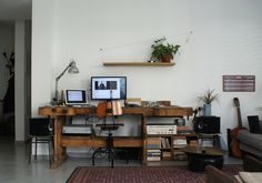#workspace #workstation Israeli Graphic Designer Home Studio #itailahav