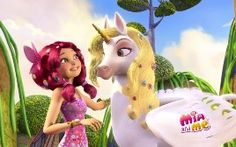 "Villa Taranto da cartoon con ""Mia and me"""