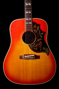 Norman's Rare Guitars :: Guitars :: Gibson :: Flat Top Acoustic :: Gibson 1965 Hummingbird Wide Neck Great Sound!  5495 dollars.