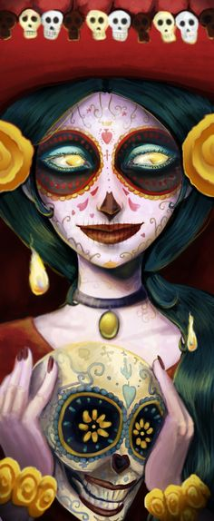La Muerte- The Book of Life by homicidalteapot.deviantart.com on @DeviantArt