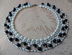 Free pattern for necklace Norma